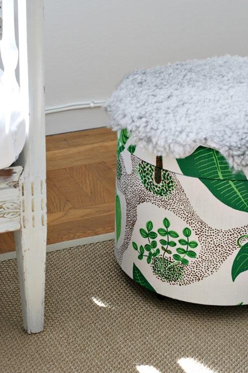 Surprising Round Ottoman Benita Larsson Machost Co Dining Chair Design Ideas Machostcouk